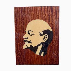 Sowjetisches Propaganda-Portrait von Lenin