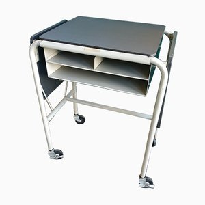 Hercules Drop-Side Typing Table from Meilink Steel Safe Co, USA, 1950s