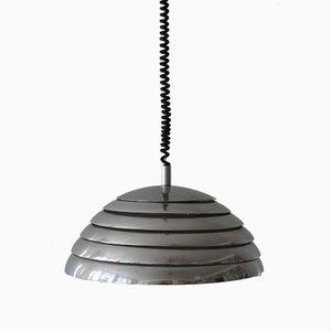 Large Mid-Century Modern Pendant Lamp from Vereinigte Werkstätten Munich, 1960s