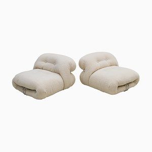Soriana Armchairs by Tobia Scarpa for Cassina, 1960s, Set of 2