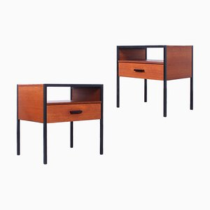 Nightstands by André Cordemeyer / Dick Cordemeijer for Auping, 1960s, Set of 2