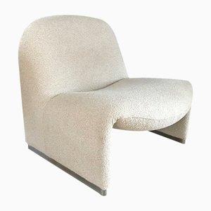Bouclé Alky Chair by Giancarlo Piretti for Castelli, 1970s