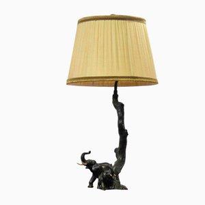 Art Deco Elephant Lamp