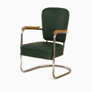 2154 Armlehnstuhl von Paul Schuitema für Fana Metaal, 1930er