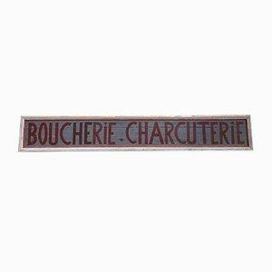 Butcher's Shop Sign