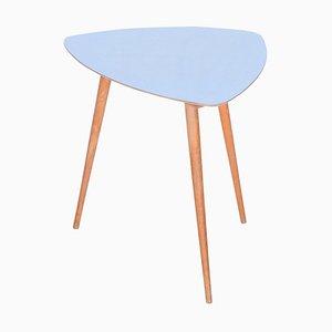 Kleiner blauer Tisch, 1950er
