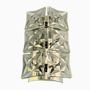 Glass Wall Lamp from Kinkeldey, 1960s