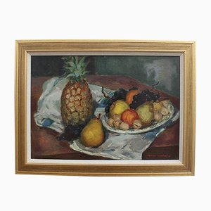 Still Life with Pineapple by Lucien Martial, 1960s