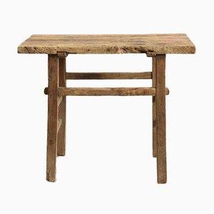 Antiker Konsolentisch aus Ulmenholz