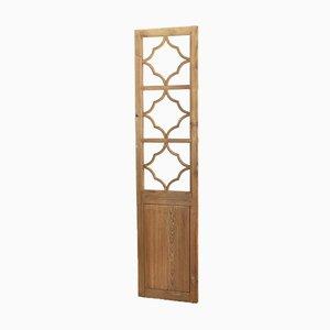 3 Pane Vintage Wooden Room Divider