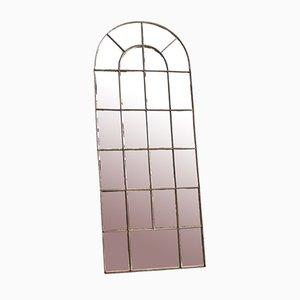 Großer gewölbter Fenster Spiegel