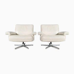Model Ds-35 Swivel Chairs from de Sede, Set of 2
