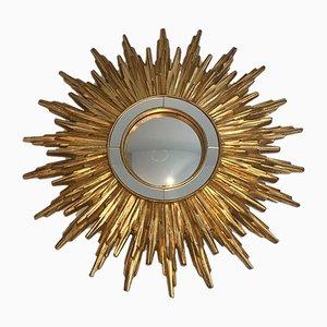 Gilt Resin Sunburst Mirror