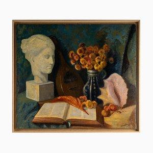 Immortelles, Oil on Canvas