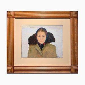 Anatoly Levitin, Sashenka, 1981, Russian Oil Painting