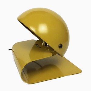 Space Age Bugia Tischlampe in Senfgelb von Giuseppe Cormio für Guzzini, 1970er