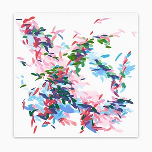 Record of Undefined Color 25, Abstract Painting, 2021