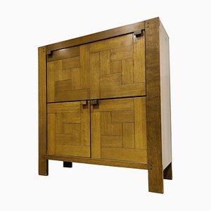 Vintage Minimalist Bar Cabinet, 1960s