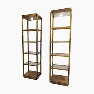 Wall Units from Belgochrom, 1970s, Set of 2