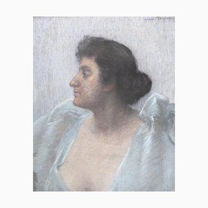 Louis Rheiner, Portrait de l'actrice Eleonora Duse, 1922