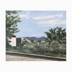 Eugène Louis Martin, Paysage et verger, 1932