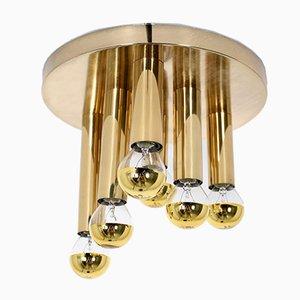 Brass Ceiling Lamp by Sciolari for Boulanger