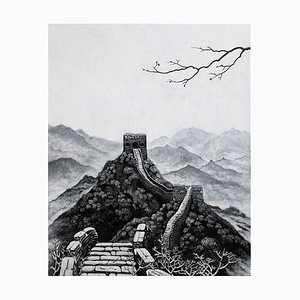 First Snow, Contemporary Chinese Painting by Jia Yuan-Hua, 2019
