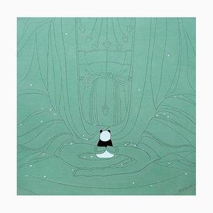 Peinture Zen, Chinoise Contemporaine par Jia Yuan-Hua, 2021