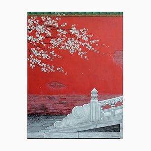 Blossom, Contemporary Chinese Painting by Jia Yuan-Hua, 2021