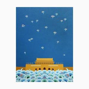 Zeitgenössische chinesische Malerei von Jia Yuan-Hua, Propitious, 2020