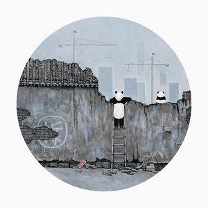 Zeitgenössische chinesische Malerei von Jia Yuan-Hua, Paradise Lost, 2021