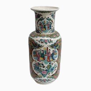 Japanische Vase aus Steingut, 20. Jh