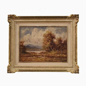 French Countryside Landscape Painting