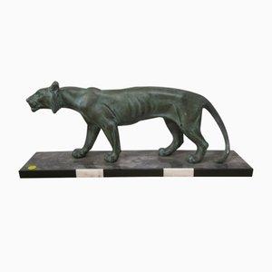 Panther Sculpture in Regula