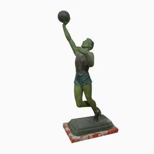 Basketball Player Sculpture in Regula