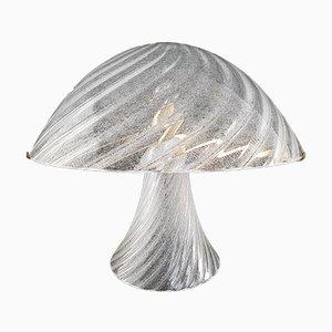 Pulegoso Tischlampe aus Muranoglas von Carlo Nason für Mazzega, 1970er