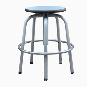 Industrial Stool with 6 Legs
