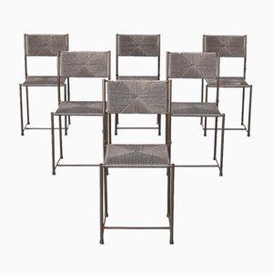 Paludis Esszimmerstühle von Giandomenico Belotti für Alias, 6er Set