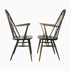 Windsor Quaker Beistellstühle von Lucian Ercolani für Ercol, 1960er, 2er Set
