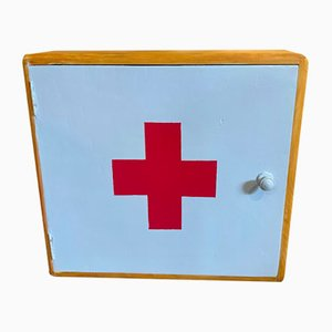 Wooden First Aid Kit Cupboard