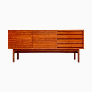 Vintage Minimalist Teak Sideboard from Bartels, 1960s
