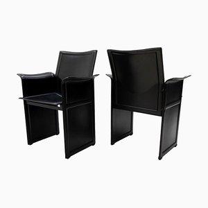 Stühle von Tito Agnoli für Matteo Grassi, 2er Set