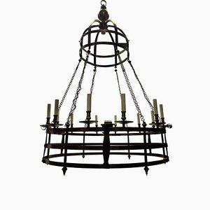 Große englische gotische Corona Lampe