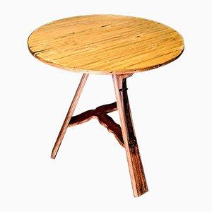 Antique Dutch Rural Oak Wooden Table, 1900s