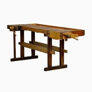 Oak Carpenters Workbench, 1950s