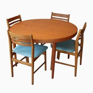 Vintage Danish Teak Dining Table, 1960s