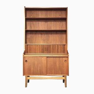 Tall Danish Modern Teak Sideboard or Bookcase by Johannes Sorth for BM, Denmark