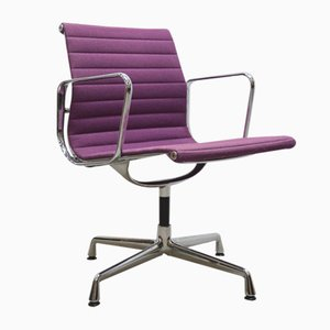 Purple Aluminium EA108 Desk Chair by Charles & Ray Eames for Vitra, 2000s