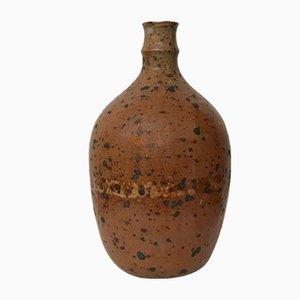 Flaschenvase aus Sandstein in Pyrity-Optik von Vasil Ivanov, 1960er