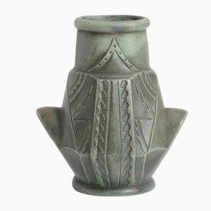 Vase Vintage en Céramique de Ceramica Gerunda, Espagne